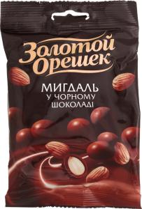 Драже миндаль в черном шоколаде Millennium м/у 100г