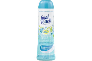 Final Touch Fresh Expressions In-Wash Laundry Scent Booster Happy Blue Lotus & Sunshine