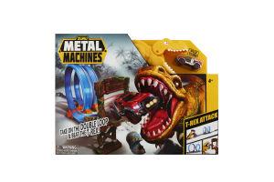 Набор игровой для детей от 4лет №6702 T-Rex Metal Machines Zuru 1шт