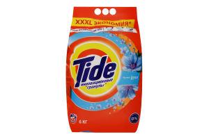 Порошок стиральный с усиленными чистящими компонентами аромат Lenor Tide 6кг