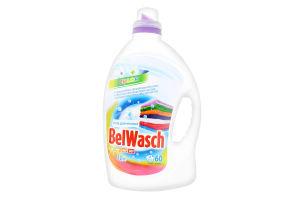 Гель для прання рідкий 3 л BelWasch для кольоровоi бiлизни п/флакон