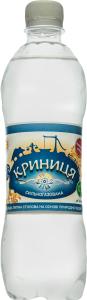 Вода питна столова сильногазована Криниця п/пл 0.5л