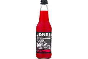 Jones Cane Sugar Soda Strawberry Lime