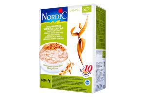 Пластівці вівсяні органічні Nordic к/у 600г