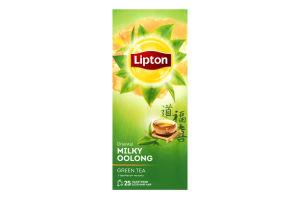 Чай зеленый байховый ароматизированный Oriental Lipton к/у 25х1.6г