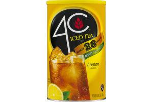 4C Iced Tea Mix Lemon Flavor