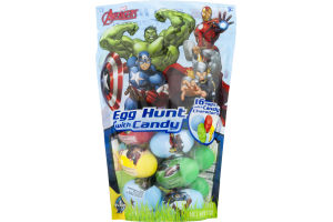 Marvel Avengers Egg Hunt with Candy - 16 CT
