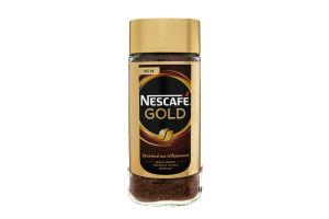 Кава розчинна сублімована Gold Nescafe 100г