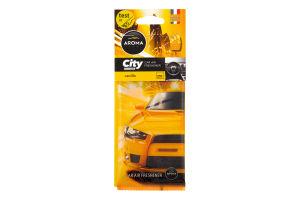 """Ароматизатор """"Aroma Car City"""", ваніль 1шт /Мотоспорт/"""