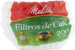 Melitta Super Premium Coffee Filters - 200 CT