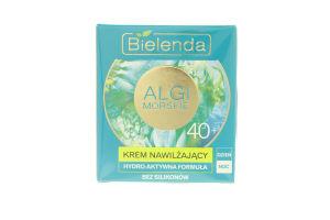 Крем для лица увлажняющий Морские водоросли 40+ Bielenda 50мл