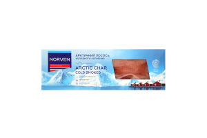 Лосось арктичний філе на шкірі Norven х/к в/у 250г