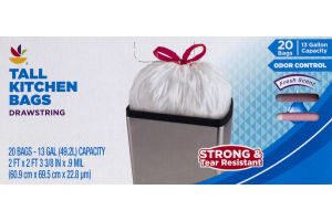 Ahold Kitchen Bags Tall - 20 CT