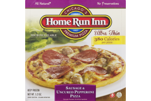 Home Run Inn Pizza Sausage & Uncured Pepperoni