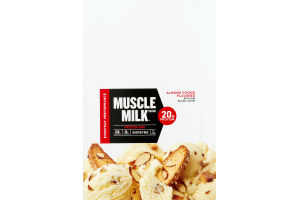 Muscle Milk Protein Bar Almond Cookie - 12 CT