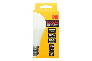 Лампа світлодіодна LED А60 10W E27 6000K Kodak 1шт