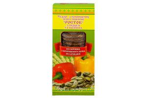 Сухарі Росток з перцем та насінням УкрЕкоХліб 150г