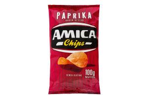 Чипсы Amica картофельные со вкусом паприки