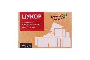 Сахар прессованный быстрорастворимый 1 категории Саркара Продукт к/у 500г