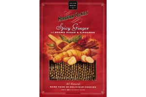 Salem Baking Co. Moravian Cookies Spicy Ginger