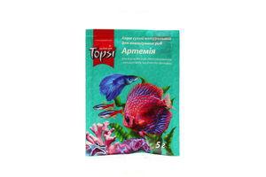 Корм сухой натуральный для аквариумных рыб Артемия Topsi 30г