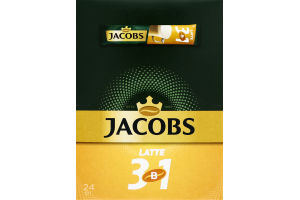 Напій кавовий розчинний Latte 3в1 Jacobs м/у 13г