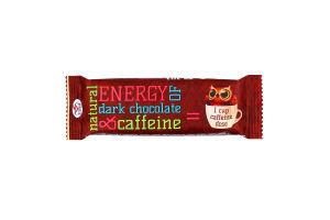 Шоколад черный с кофеином Домінік м/у 35г
