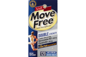 Schiff Move Free Joint Strengthener Double Strength - 120 CT