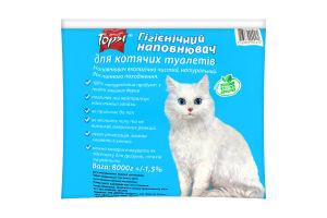 Наполнитель гигиенический для кошачьих туалетов Topsi 8000г