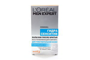 Бальзам после бритья Men Expert Гидра Сенситив L'oreal 100мл