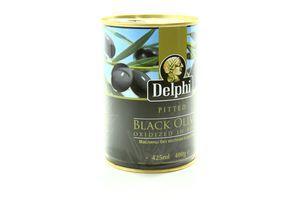 Маслины без косточек в рассоле Delphi ж/б 400г