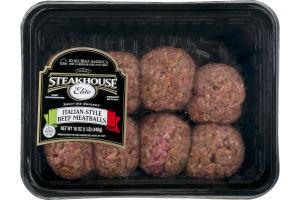 Steakhouse Elite Italian-Style Beef Meatballs