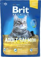 Корм для котов Brit Премиум с лососем сухой