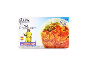 Тунець Vigilante в томатному соусі 120мл х50