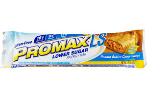 Promax LS Lower Sugar Energy Bar Peanut Butter Cookie Dough