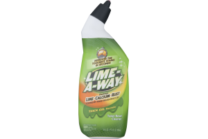 Lime-A-Way Toilet Bowl Cleaner Thick Gel Formula