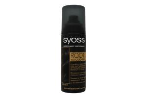 Спрей тонуючий для волосся Root Retoucher чорний Syoss 120мл