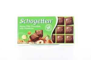 Шоколад Trumpf Schogetten орех 100г