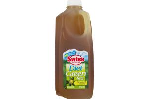 Swiss Premium Natural Flavored Tea Diet Green