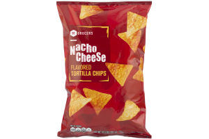 SE Grocers Tortilla Chips Nacho Cheese