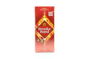 Чай черный байховый пак.з/я Brook Bond 1,8г*25шт
