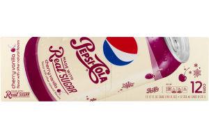 Pepsi-Cola Cherry Vanilla - 12 CT