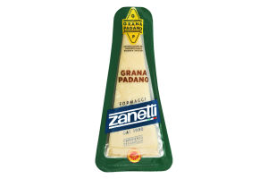 Сыр 32% Grana Padano Zanetti м/у 200г