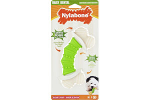 Nylabone Daily Dental Bacon Flavor Chew Toy