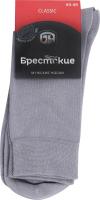 Шкарпетки чоловічі Брестские Classic №14С2122-Д38 29 світло-сірий