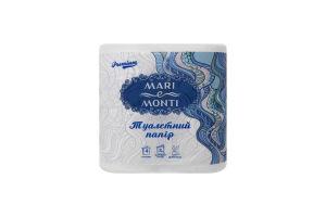 MARI e MONTI папір туалетний тришаровий 4шт білий