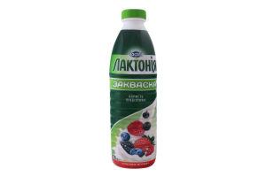 Закваска 1.5% Лесная ягода Лактонія п/бут 870г