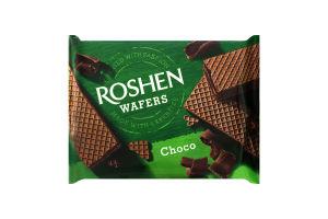 Вафлі Roshen Wafers Choco 72г х6