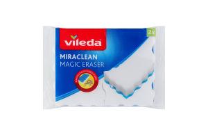 Губка меламиновая Miraclean Vileda 2шт
