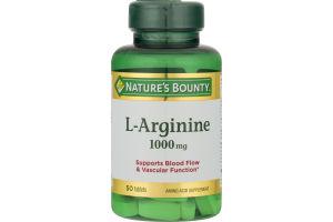 Nature's Bounty L-Arginine 1000 MG - 50 CT